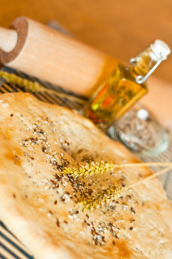 Download Lavash stock image. Image of close, seeds, flour, doughy - 12008209