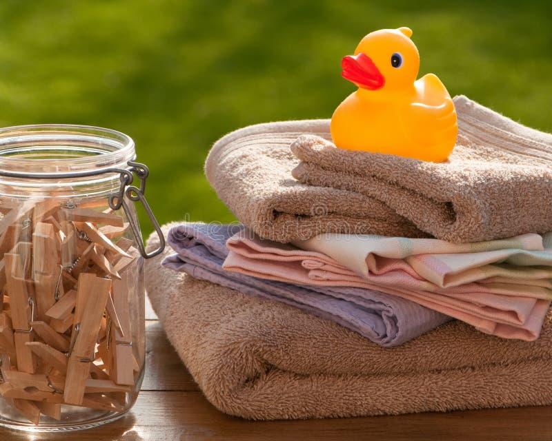 lavata di giorno fotografia stock