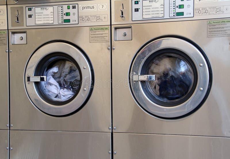 Lavatrici industriali immagini stock