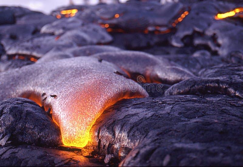 Lave 1 de Kona photo libre de droits