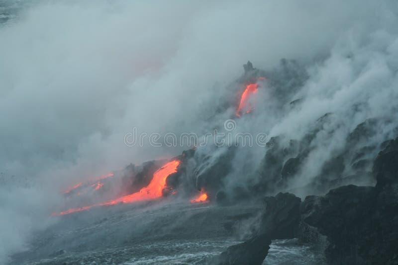 Lave Fluss 6 stockfotografie