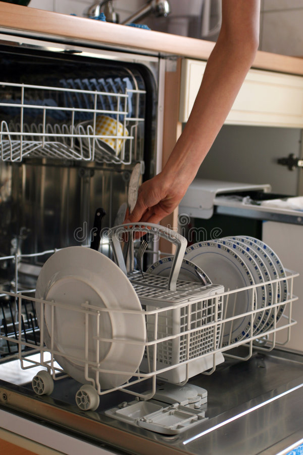 Lave-vaisselle photos libres de droits