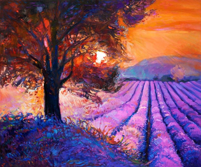Lavendel vector illustratie