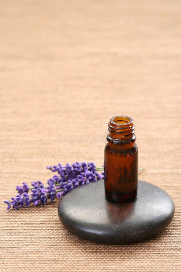 Lavendel aromatherapy stockfotografie