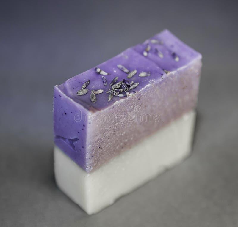 Lavendel und Jasmine Hand oder Bad-Seife lizenzfreies stockbild