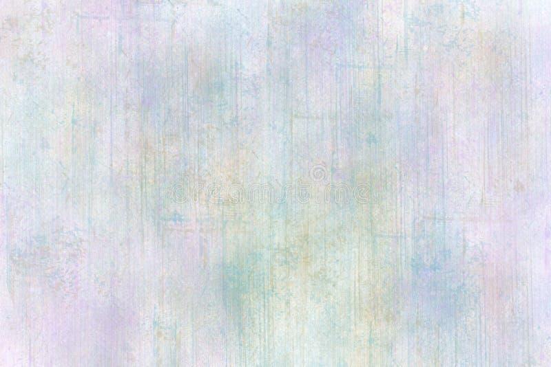 Lavender κρητιδογραφιών μπλε σύσταση Brushwork Grunge στοκ εικόνες