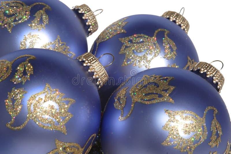 lavender Χριστουγέννων διακοσμήσεις στοκ φωτογραφία