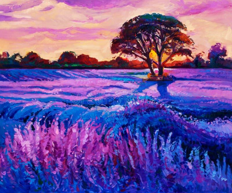 Lavender απεικόνιση αποθεμάτων