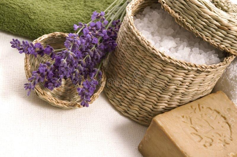 Lavender Bath Free Stock Images