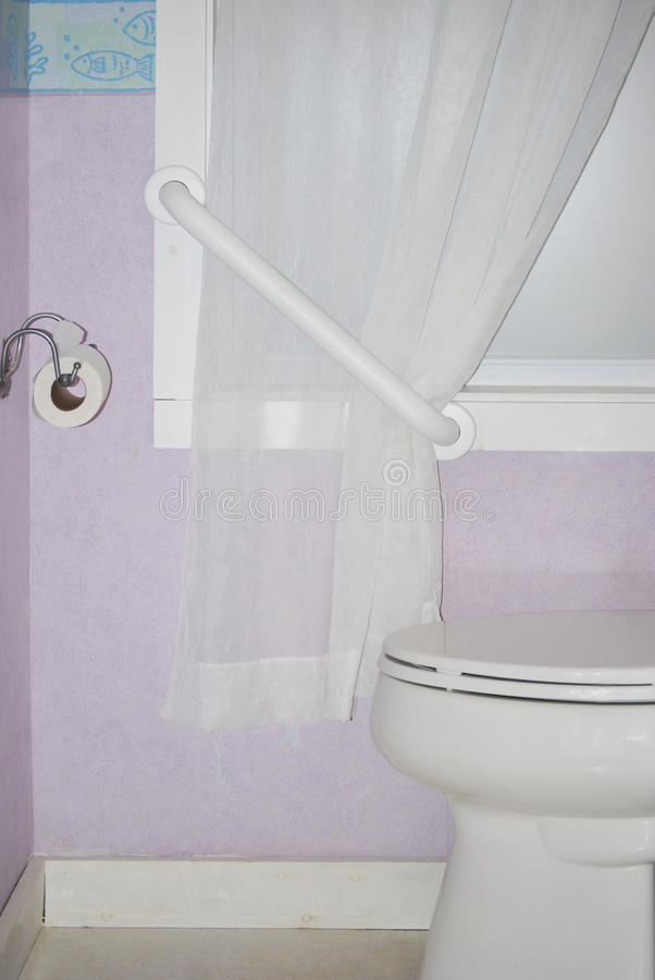 Lavender Bathroom royalty free stock images