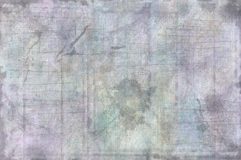 Lavender Blue Brushwork Grunge Texture. This is a lavender blue brushwork grunge texture or background stock photography