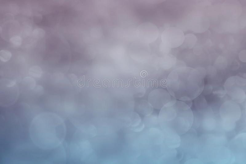 Lavender and blue colorful abstract bokeh wallpaper background illustration. vector illustration