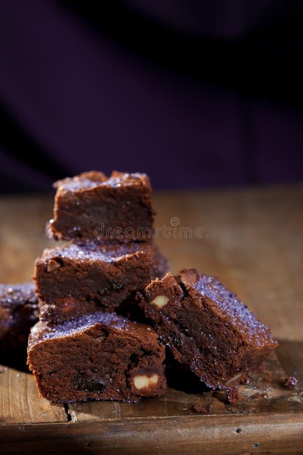 Download Lavender Chocolate Brownies Stock Image - Image: 21768923