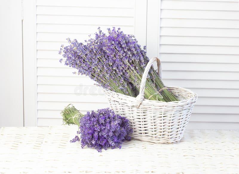 Lavender in de mand Provence-regio in frankrijk royalty-vrije stock afbeelding