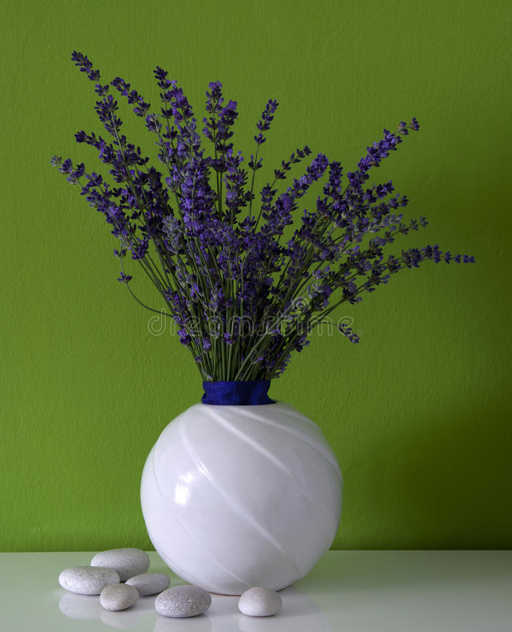 Download Lavender in the room stock image. Image of home, flowers - 26003147