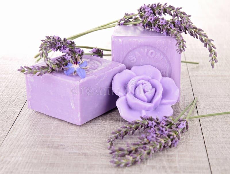Lavender Soap Stock Image
