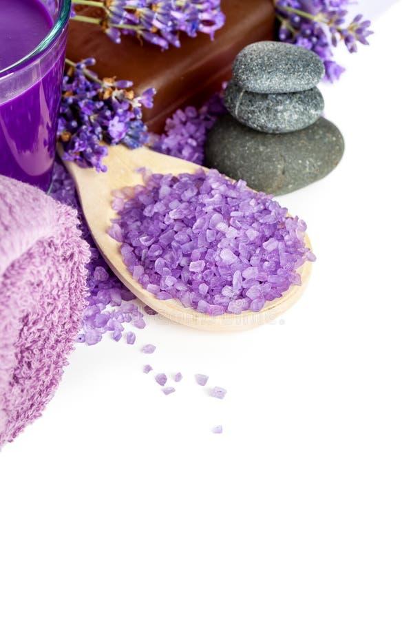 Lavender spa royalty-vrije stock fotografie