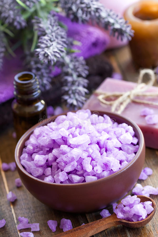 Download Lavender Spa Stock Image - Image: 38764541