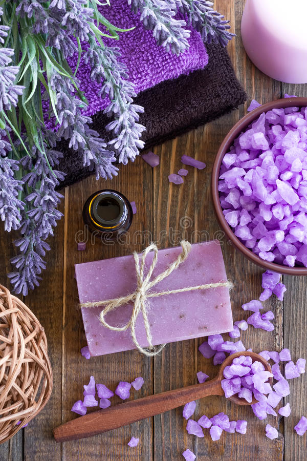 Download Lavender spa stock image. Image of bathroom, aroma, beauty - 38764575