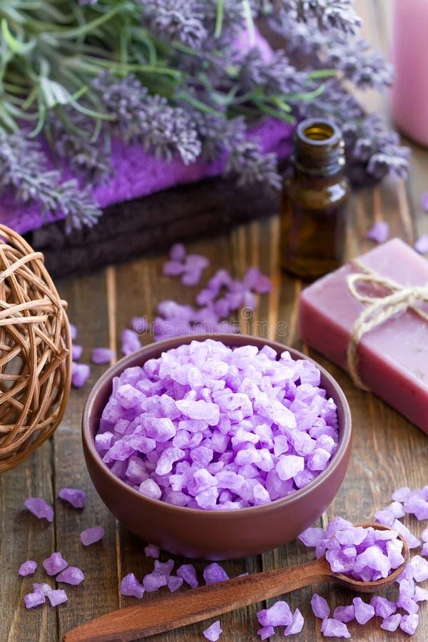 Download Lavender spa stock photo. Image of body, hygiene, bathroom - 38764598