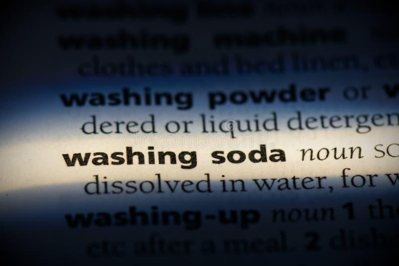 Laver du soda image libre de droits
