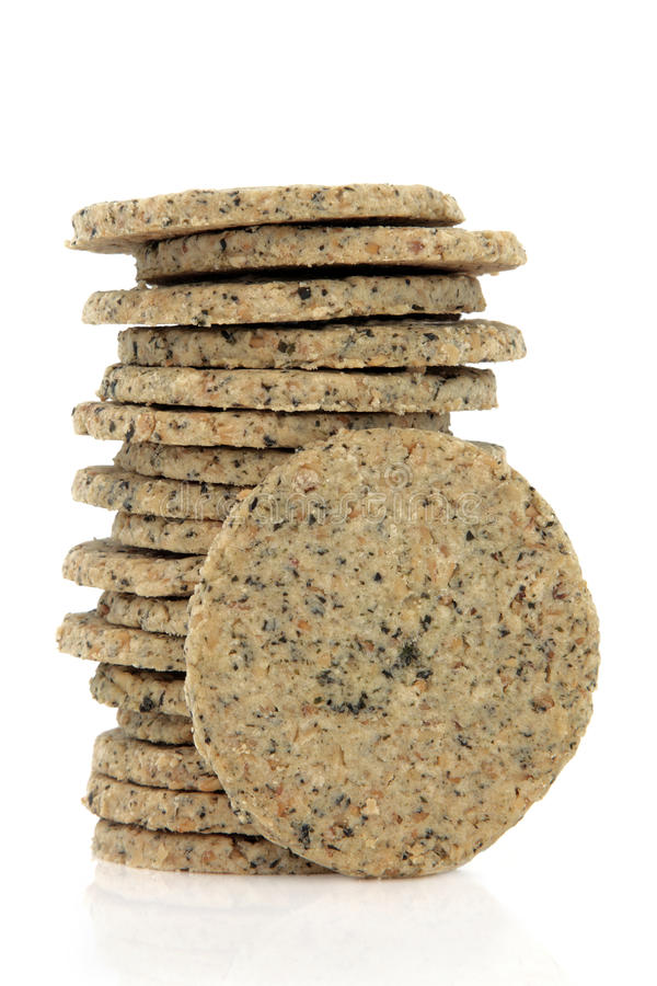 Free Laverbread Biscuits Royalty Free Stock Photos - 27193108