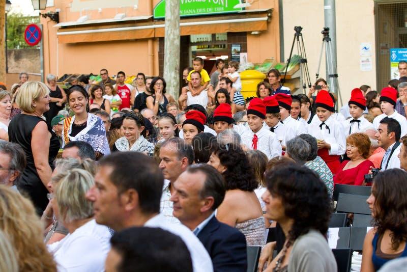 LaVerema festival, Alella royaltyfria bilder