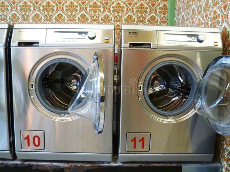 laverie automatique photo libre de droits