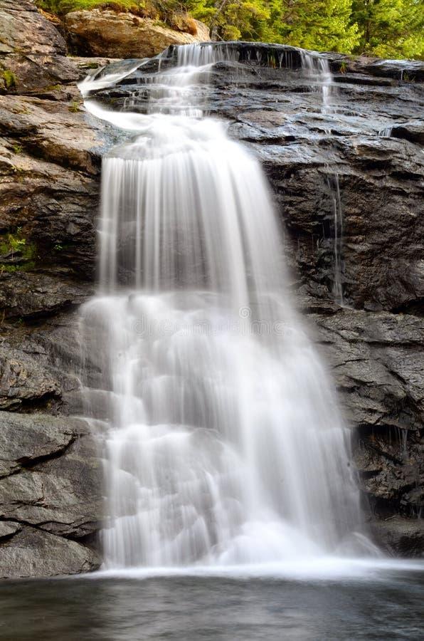Laverty-Fälle, Nationalpark Fundy, New-Brunswick, Kanada lizenzfreies stockfoto