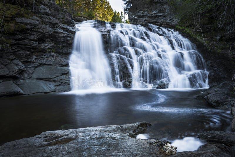 Laverty Falls, Fundy National Park royalty free stock photos