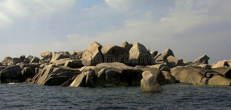 Lavezzieilanden - Bonifacio Corsica royalty-vrije stock afbeeldingen