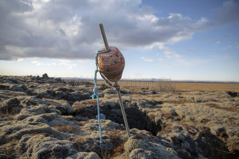 Lavlandscape Iceland royalty free stock photography
