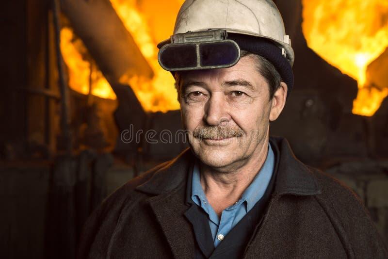 Lavorare-esperto di metallurgia fotografia stock