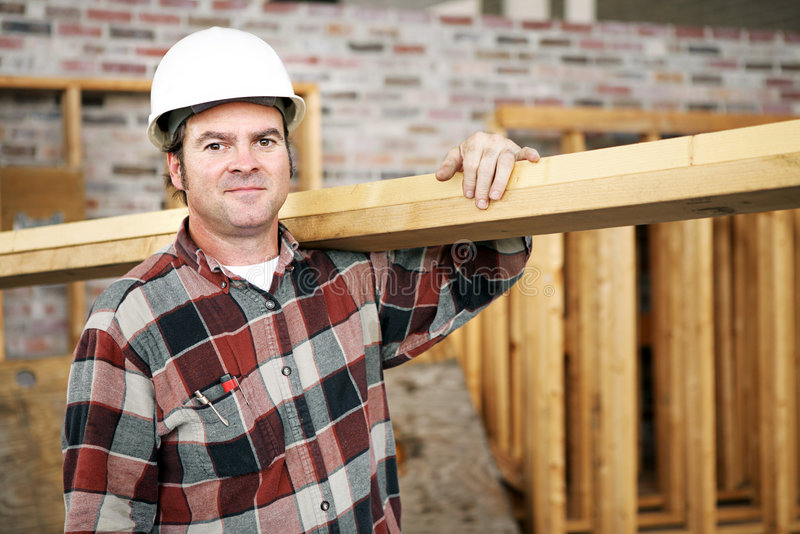 Lavoratore della costruzione fotografia stock libera da diritti