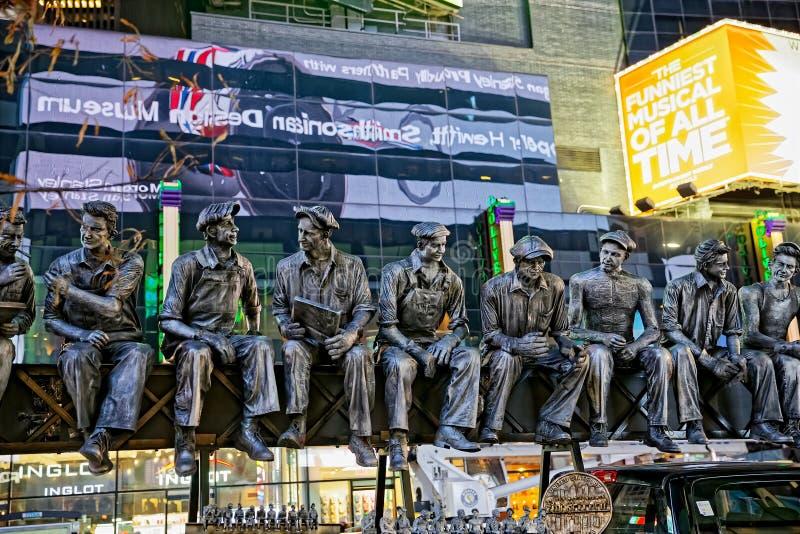 Lavoratori del ferro di New York fotografia stock libera da diritti