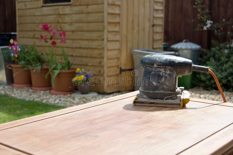 Lavorazione del legno di DIY immagini stock