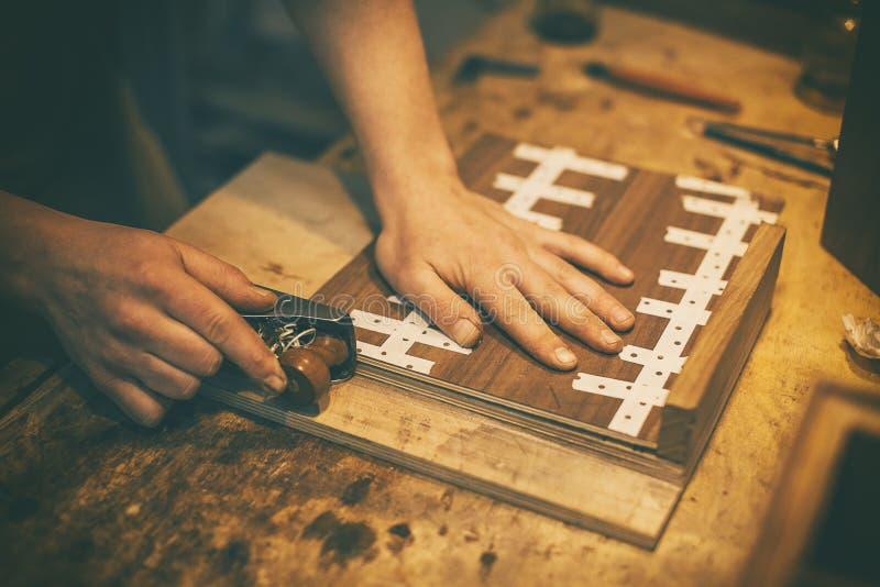 Lavorazioni del legno 4 immagine stock