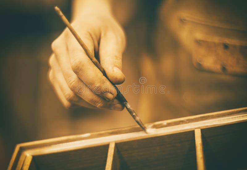 Lavorazioni del legno 6 immagini stock