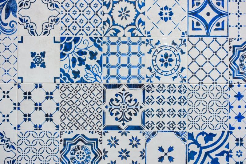 Download Lavoro Blu E Bianco Antico Delle Mattonelle, Azulejos Immagine  Stock   Immagine Di Vecchio