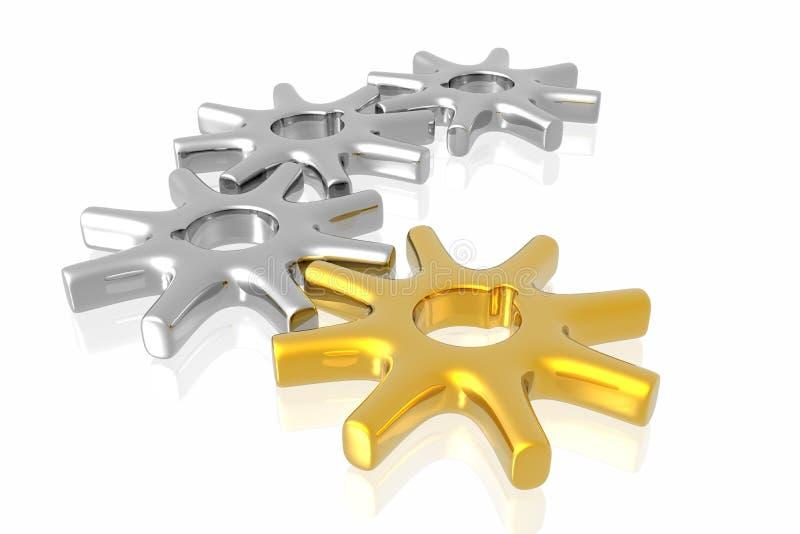 Download Lavoro Di Affari Dell'attrezzo Illustrazione di Stock - Illustrazione di direzione, industria: 7322984
