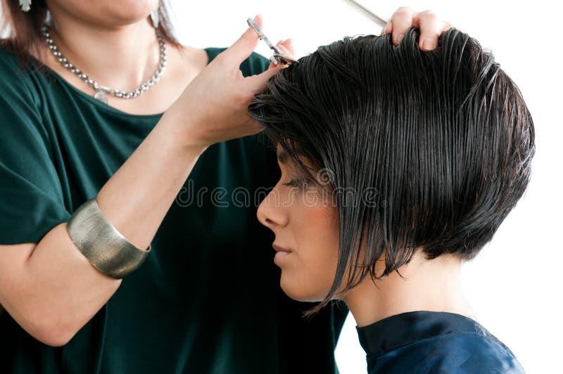 Lavoro di parrucchiere fotografia stock libera da diritti