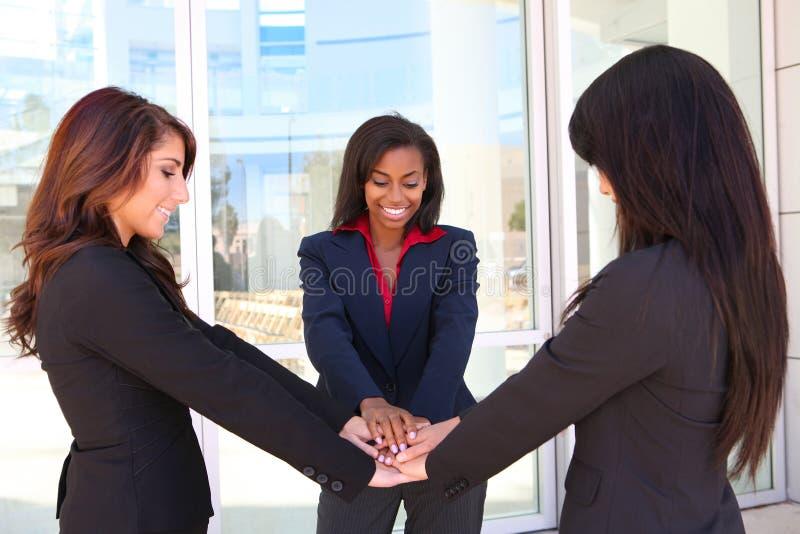 Lavoro di squadra della donna di affari immagine stock libera da diritti