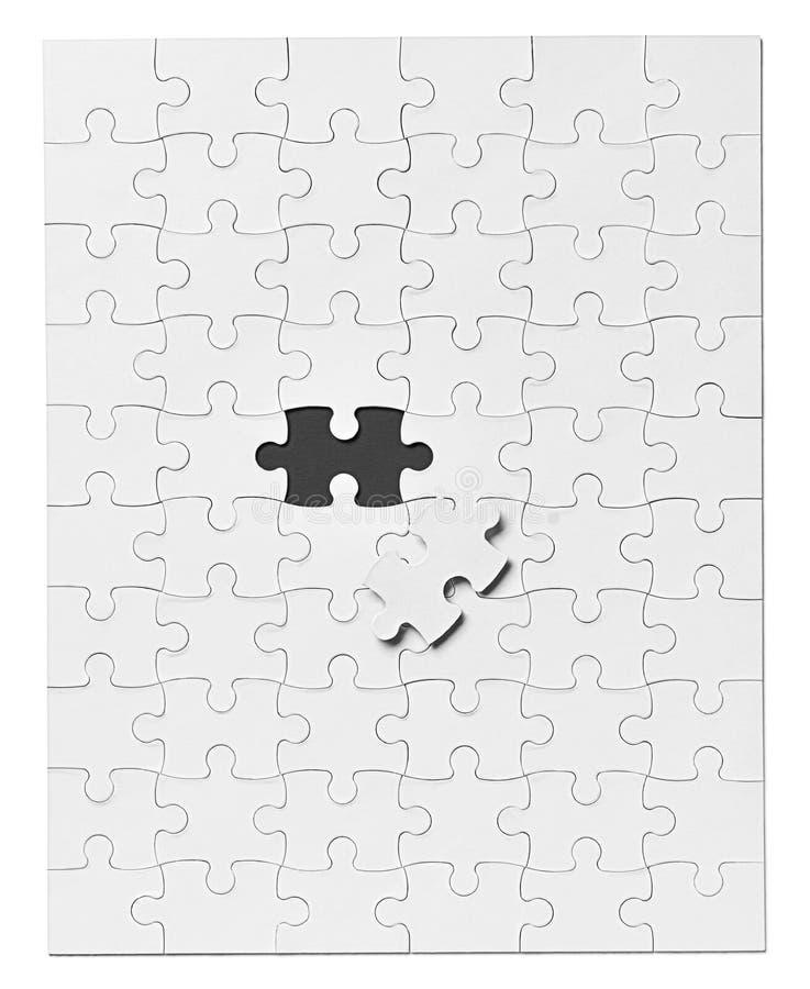 Lavoro di squadra della soluzione del gioco di puzzle immagine stock