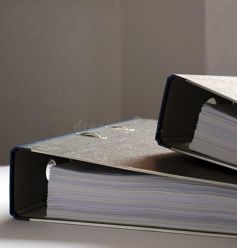 Lavoro di ufficio - dispositivi di piegatura 4 fotografia stock libera da diritti