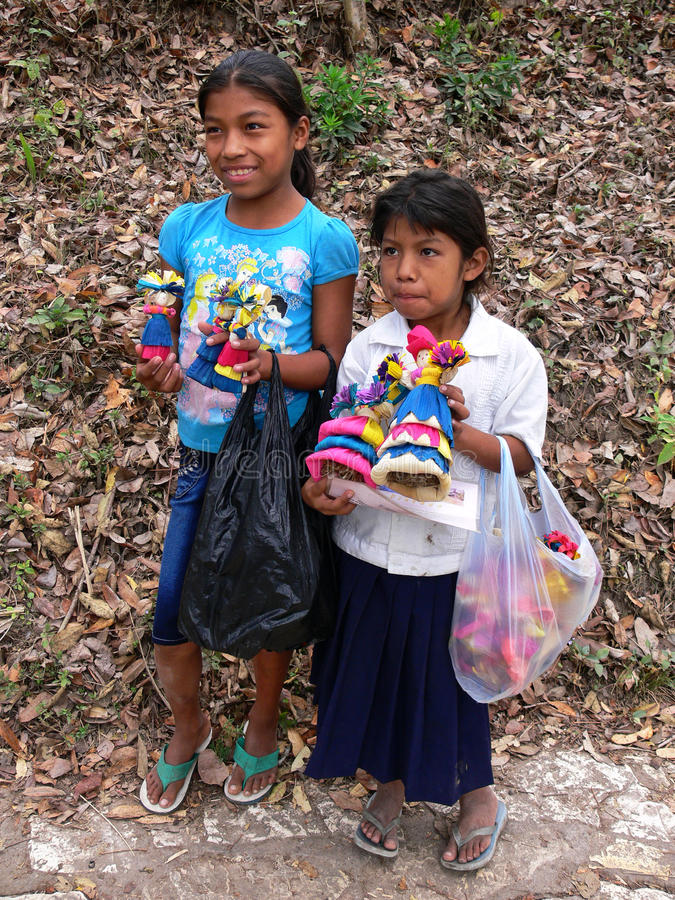 Lavoro infantile Honduras fotografie stock libere da diritti
