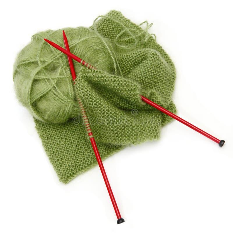 Lavoro a maglia immagini stock