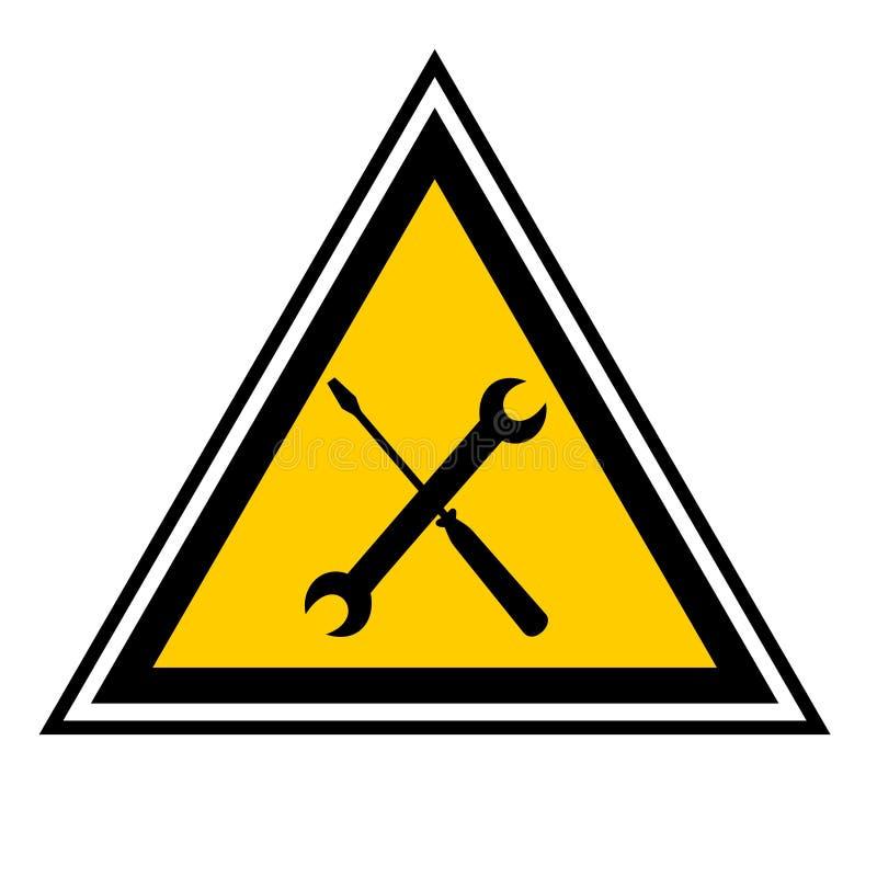 Lavoro manuale del contrassegno illustrazione vettoriale