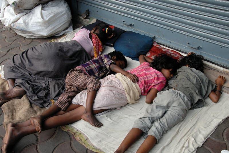 Lavoro migratore in Kolkata immagine stock libera da diritti