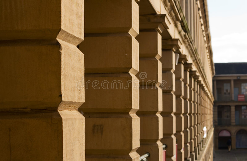 Lavoro In Pietra Nella Parte Corridoio, Halifax Immagine Stock Libera da Diritti