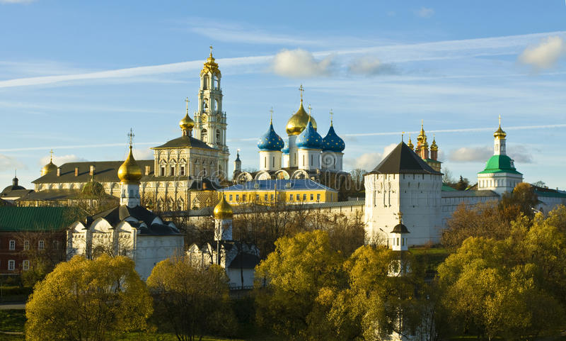 lavra修道院俄国sergey三位一体 库存图片